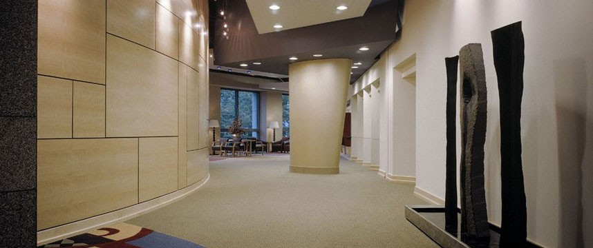 Group Health Lobby - Curved Maple Wall Panels (1/2)