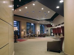 Group Health Lobby - Curved Maple Wall Panels (2/2)