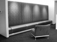 Microsoft City Center Backlit Banquette System (1/2)