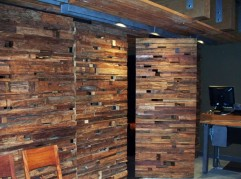 Wild Ginger Bellevue Reclaimed Teak Pivoting Door System (1/2)